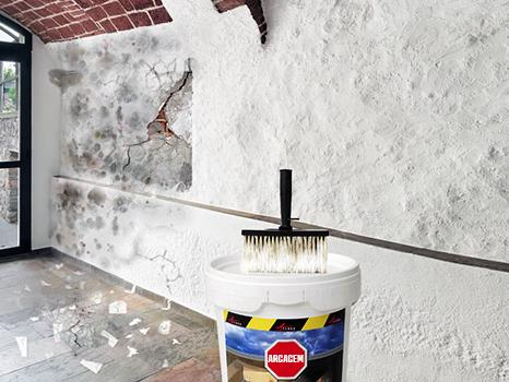 Waterproof Cement Based Coating For Basements, Garages, Undergrounds    ARCACEM