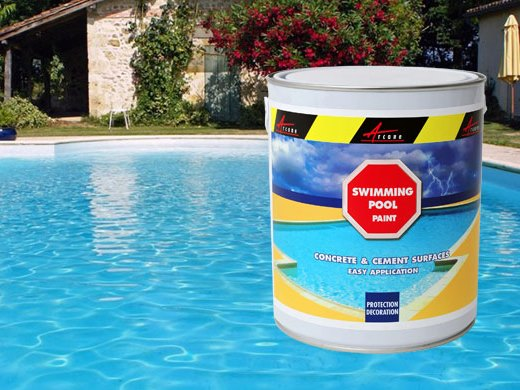 Waterproof Paint For Pools : Swimming pool paint arcapool waterproofing from basement