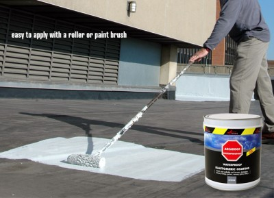 waterproofing roof with paint