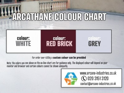 waterproofing paint colour chart