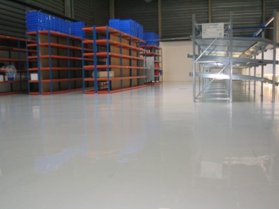 epoxy floor for warehouse