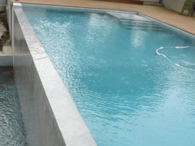 plaster casing for swimming pool