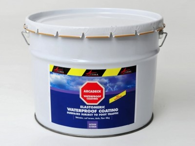 Waterproofing product for trafficable roof terraces - ARCADECK