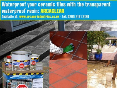 transparent liquid waterproofing system