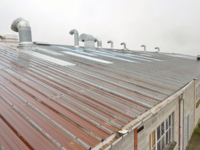 waterproofing metal roof